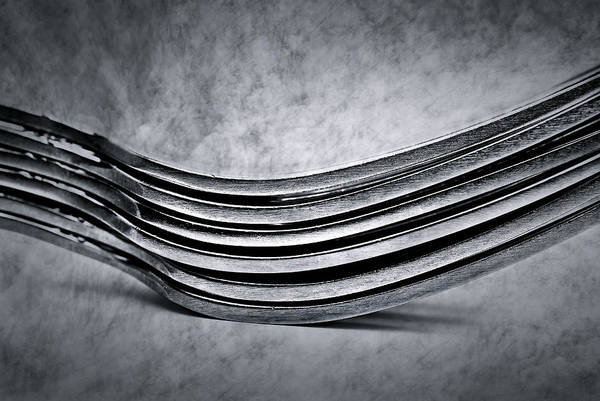 Photograph - Forks - Antique Look by  Onyonet  Photo Studios