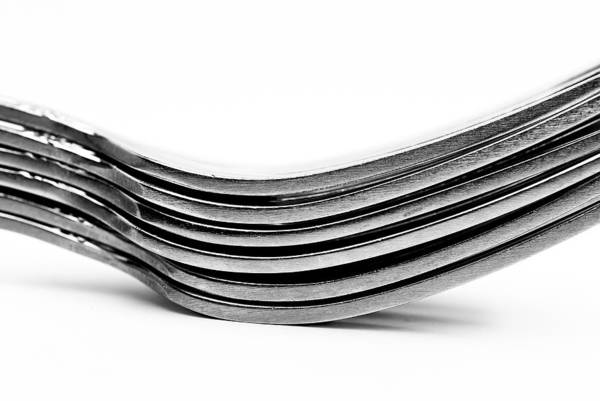 Photograph - Forks by  Onyonet  Photo Studios