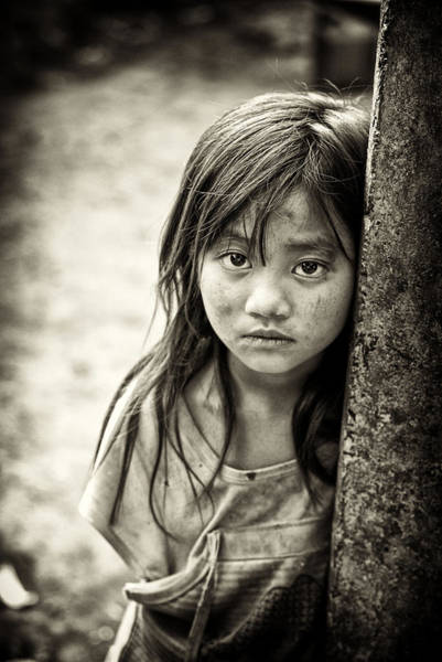 Photograph - Forlorn Face by Cameron Wood
