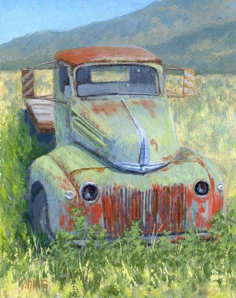 Painting - Forlorn Ford by David King