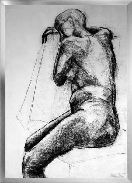 Organic Form Drawing - Form Of Body by Pamela Rys