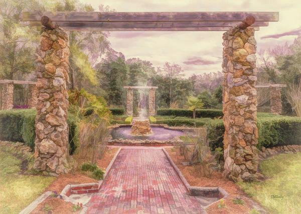 Photograph - Formal Garden Area Of Ravine Gardens State Park by John M Bailey