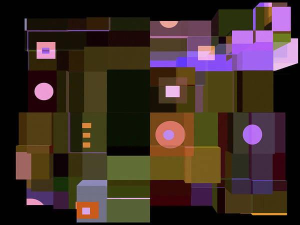 Variation Mixed Media - Formality 14 by Lynda Lehmann