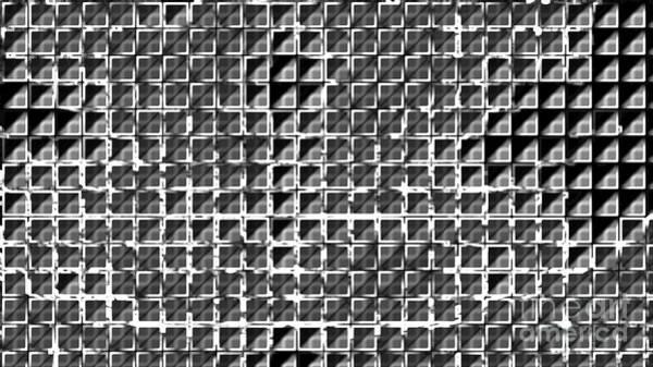 Mixed Media - Formart 1 Geometry-design by Eva-Maria Di Bella