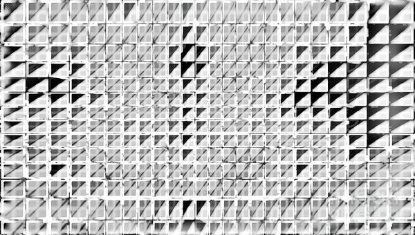 Mixed Media - Formart 3 Geometry-design by Eva-Maria Di Bella