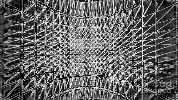 Mixed Media - Formart 5 Geometry-design  by Eva-Maria Di Bella