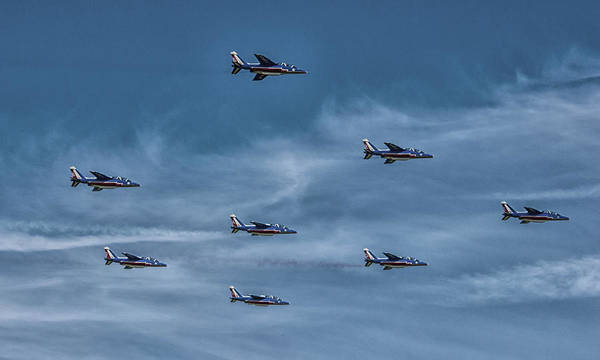 Fighter Jets Photograph - Formation by Martin Newman