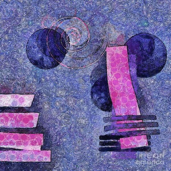 Art Form Digital Art - Formes - 18a by Variance Collections