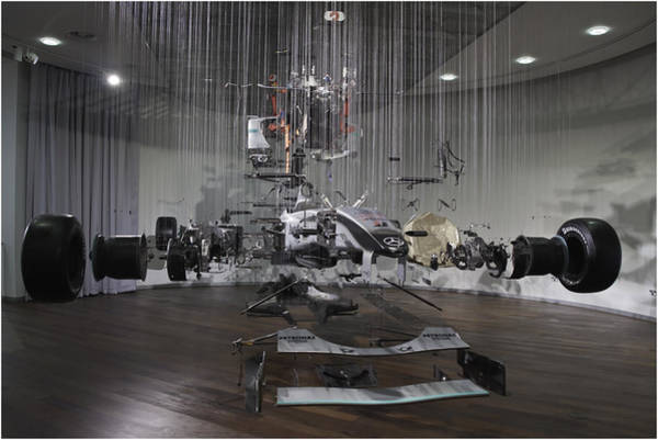 Mercedes Photograph - Formula One In Pieces by Nigel Jones