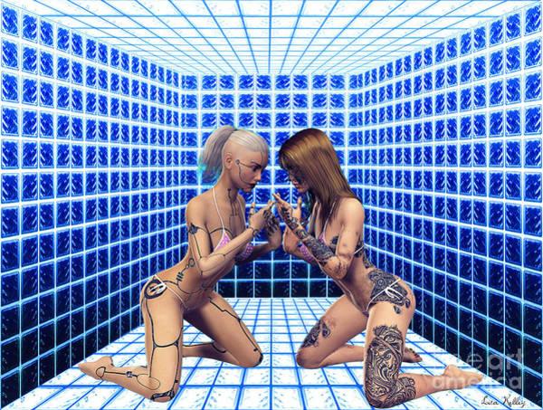 Digital Art - Fornicatur Praecepit Parvulis by Lita Kelley