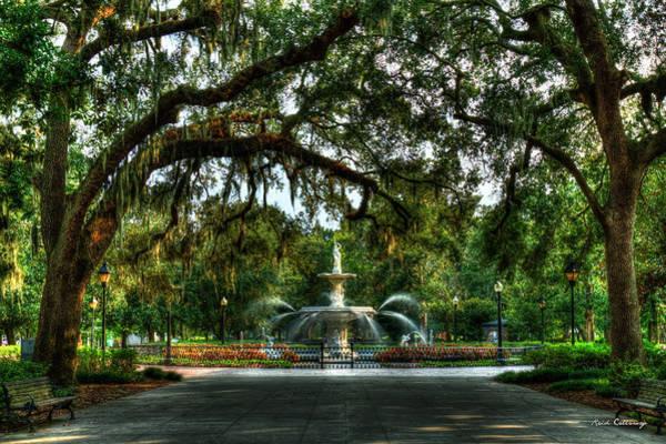 Photograph - Forsyth Park Fountain 2 Historic Savannah Georgia by Reid Callaway
