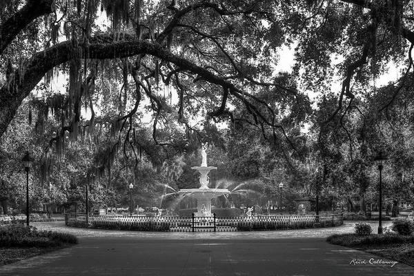 Forsyth Photograph - Forsyth Park Fountain 2 Savannah Georgia Art by Reid Callaway