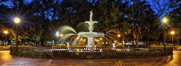 Wall Art - Photograph - Forsyth Park Fountain by Jerry Fornarotto