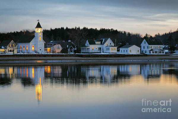Photograph - Fort Baldwin Winter Evening by Olivier Le Queinec