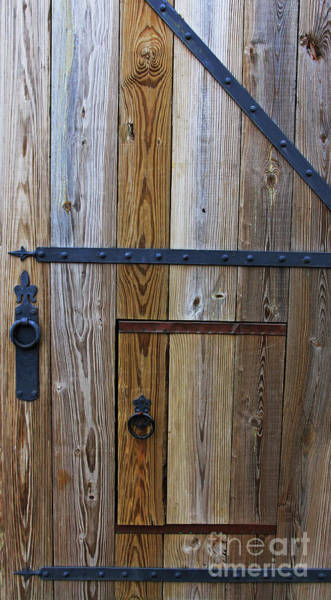 Photograph - Fort Caroline Door  by Jennifer Robin