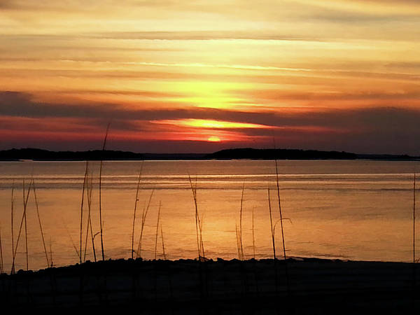 Wall Art - Photograph - Fort Clinch Sunset by Donna Kennedy