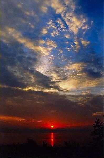 Flagler Photograph - Fort Flagler Sunrise by Lynne and Don Wright