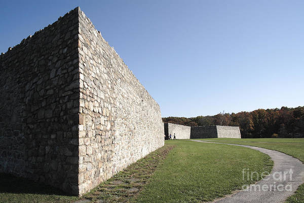 Photograph - Fort Frederick In Maryland by William Kuta