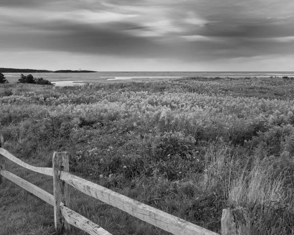Photograph - Fort Hill Bw by Bill Wakeley