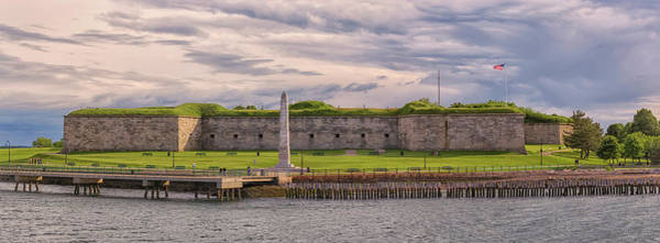 Photograph - Fort Independence At Castle Island by Brian MacLean