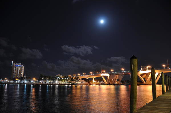 Wall Art - Photograph - Fort Lauderdale Draw Bridge by Kelly Wade