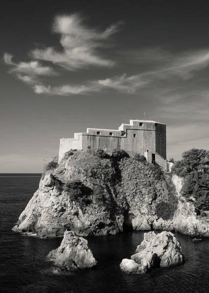 Wall Art - Photograph - Fort Lavrijenac by Dave Bowman