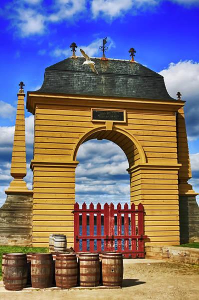Photograph - Fort Louisbourg Nova Scotia by Tatiana Travelways