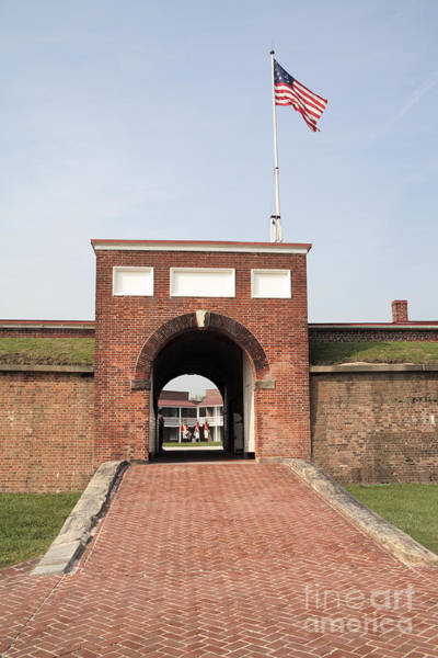 Maryland Wall Art - Photograph - Fort Mchenry Gate In Baltimore Maryland by William Kuta