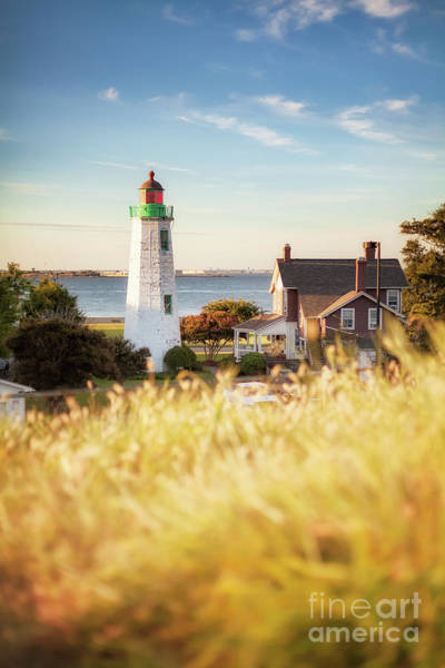 Photograph - Fort Monroe Old Point Comfort Light by Lisa McStamp