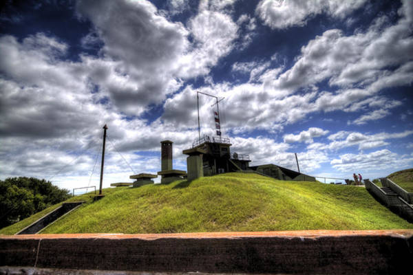 Photograph - Fort Moultrie Bunker by Dustin K Ryan