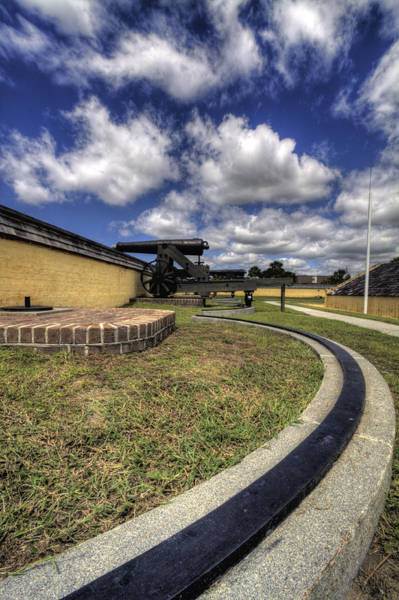 Photograph - Fort Moultrie Cannon Rails by Dustin K Ryan