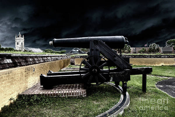 Photograph - Fort Moultrie Magic by Dale Powell