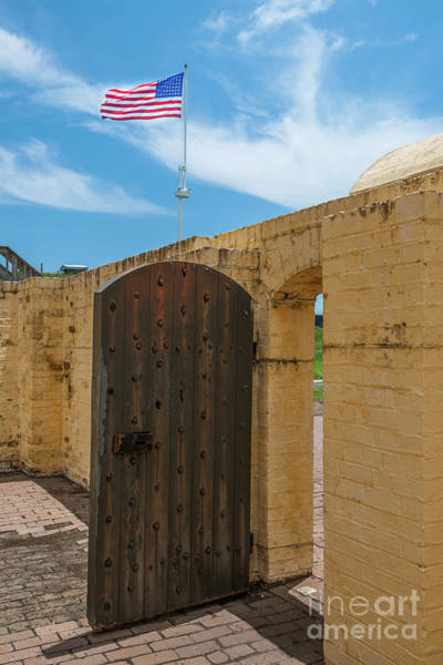 Photograph - Fort Moultrie On Sullivan's Island South Carolina by Dale Powell