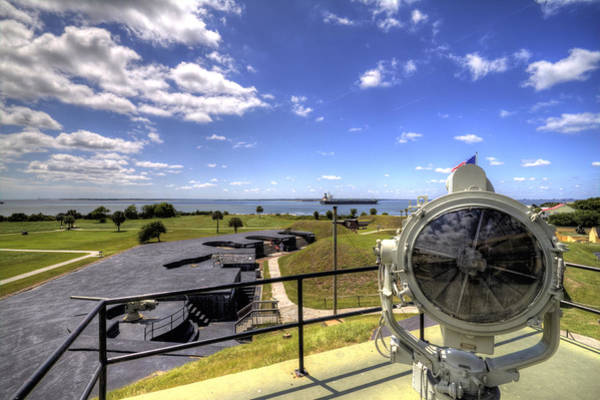 Photograph - Fort Moultrie Signal Light by Dustin K Ryan