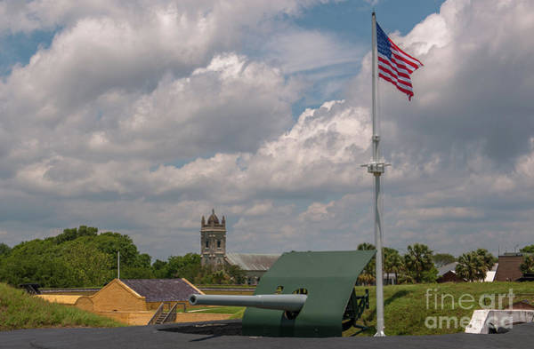 Photograph - Fort Moultrie Usa by Dale Powell