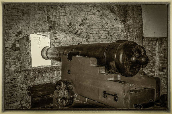 Wall Art - Photograph - Fort Pickens Canon by Paul Freidlund