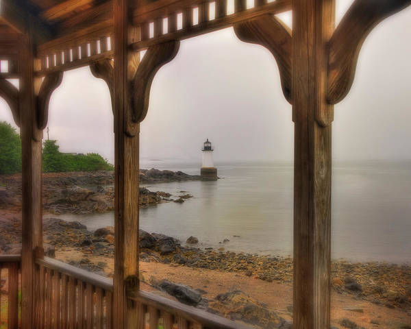 Photograph - Fort Pickering Light - Winter Island Light - Salem Ma by Joann Vitali
