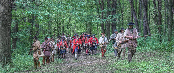 Marching Digital Art - Fort Pitt Bound by Randy Steele