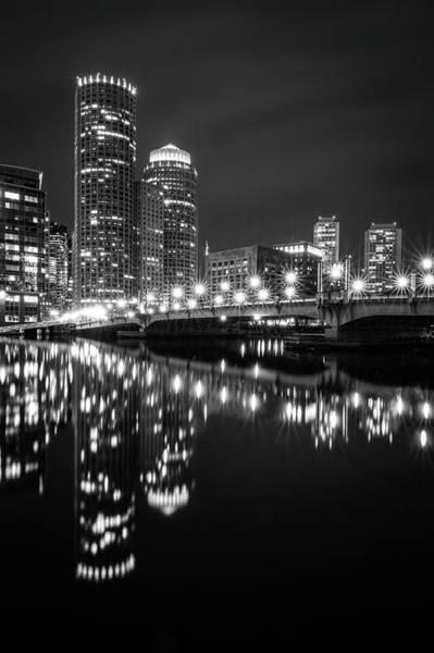 Photograph - Fort Point Channel Reflections by Kristen Wilkinson