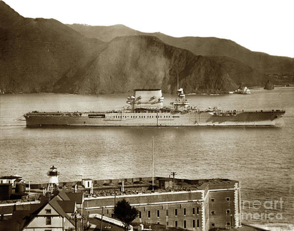 Photograph -  Fort Point Golden Gatesan Francisco Bay March 31 1928 by California Views Archives Mr Pat Hathaway Archives