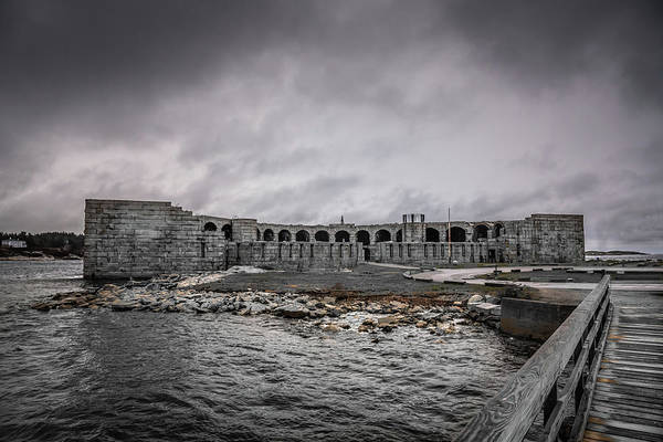Photograph - Fort Popham by Guy Whiteley