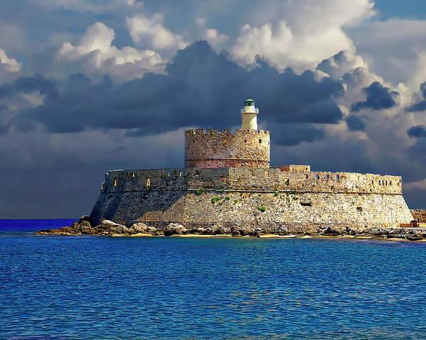 Photograph - Fort Saint Nicolas by Anthony Dezenzio