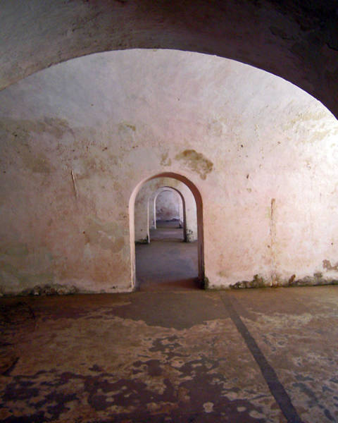 Photograph - Fort San Felipe Del Morro Doors by Adam Johnson