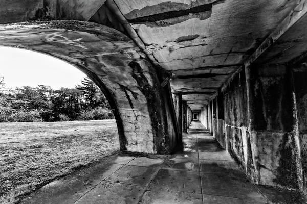 Photograph - Fort Stevens In Black And White by Kay Brewer