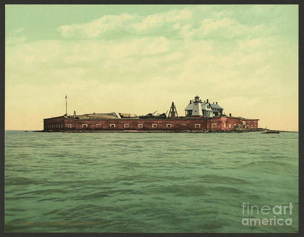 Photograph - Fort Sumter In 1901 by Dale Powell