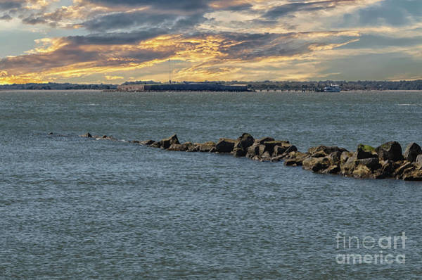 Photograph - Fort Sumter Protection by Dale Powell