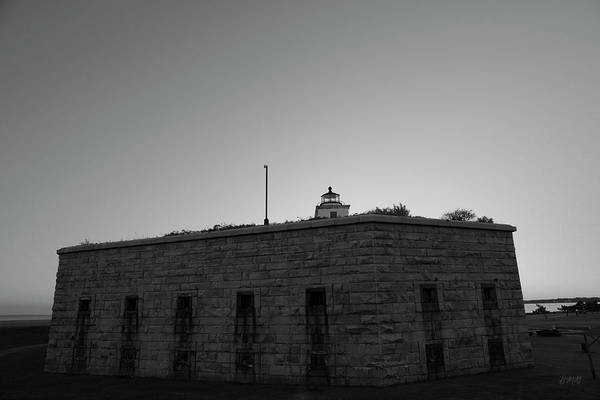 Photograph - Fort Taber Nb II Bw by David Gordon