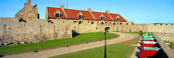 Fortification Photograph - Fort Ticonderoga, Lake Champlain, New by Panoramic Images