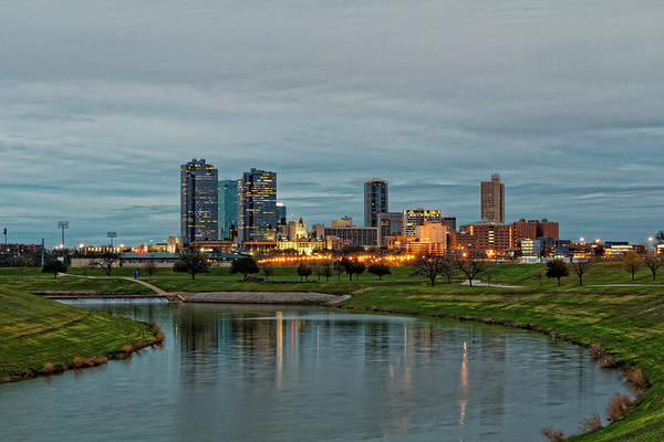 Texas Landscape Photograph - Fort Worth Color by Jonathan Davison