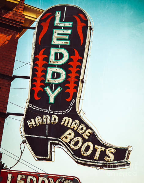 Fort Worth Photograph - Fort Worth Leddy's by Sonja Quintero